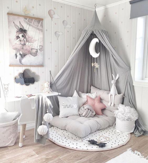 comfortable kid bedroom