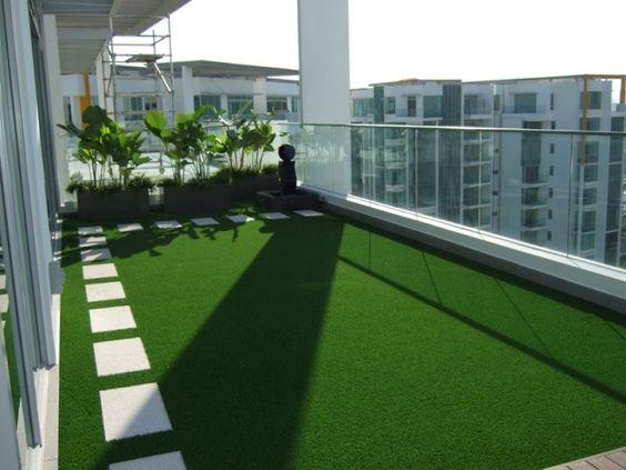 rooftop with open garden