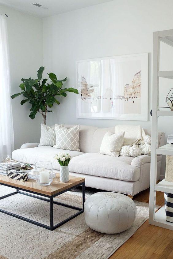 Scandinavian small living room