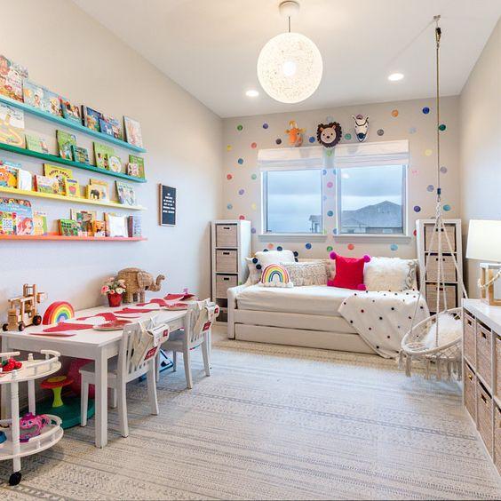 bright kid bedroom