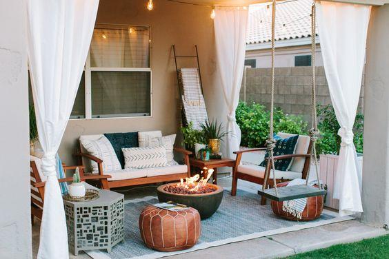 comfortable small garden