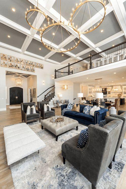 crystal chandelier for large living room