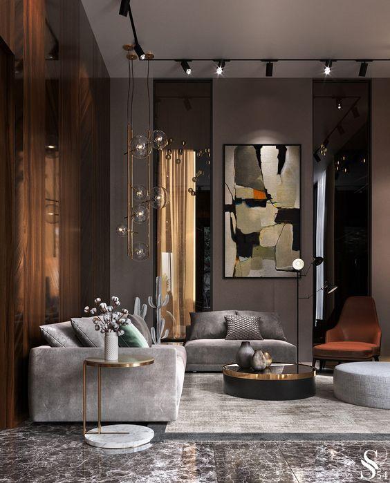 large living room decoration