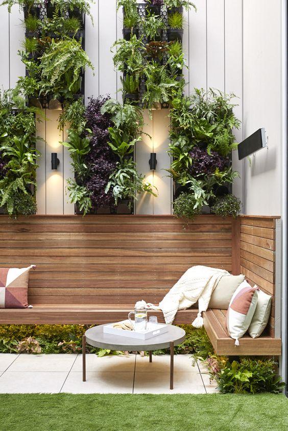 modern tiny garden