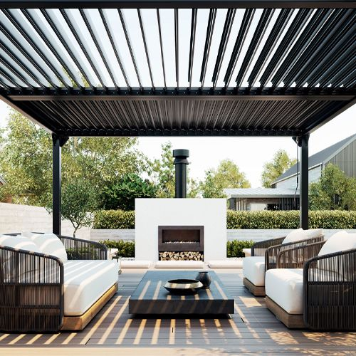 fireplace for rooftop