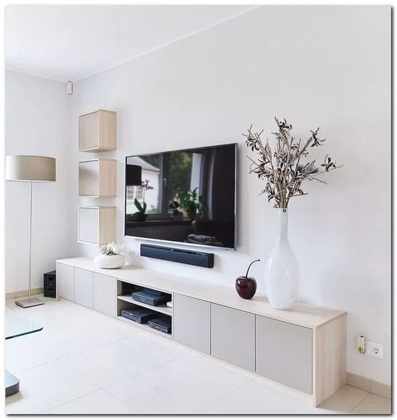 beautiful scandinavian monochrome living room