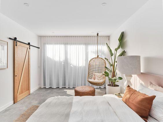 fresh minimalist bedroom