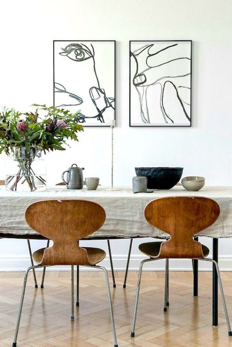 picture and painting dining room decor