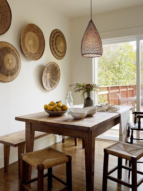 unique plate dining room decor