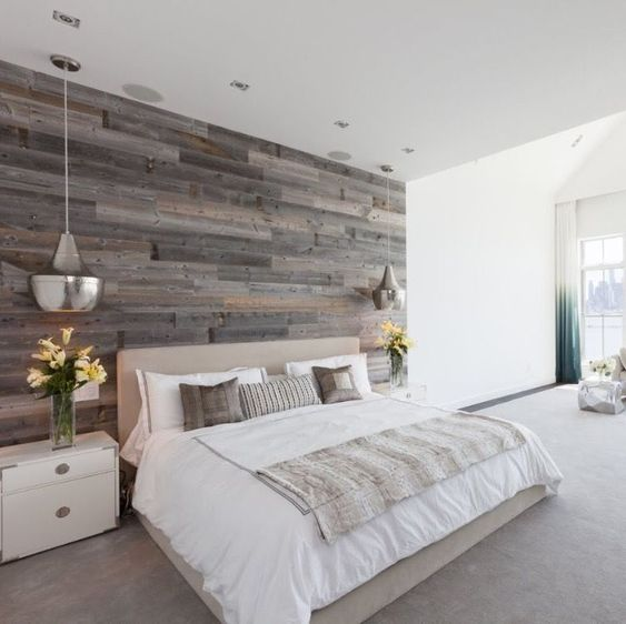 rough grey wood wall