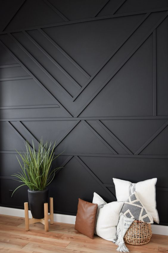 wood wall with interesting pattern