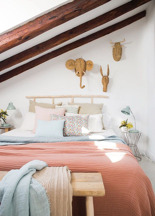 bright colors for bedding