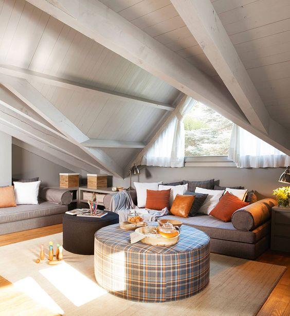 comfortable attic