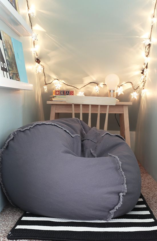 bean bag for cozy attic