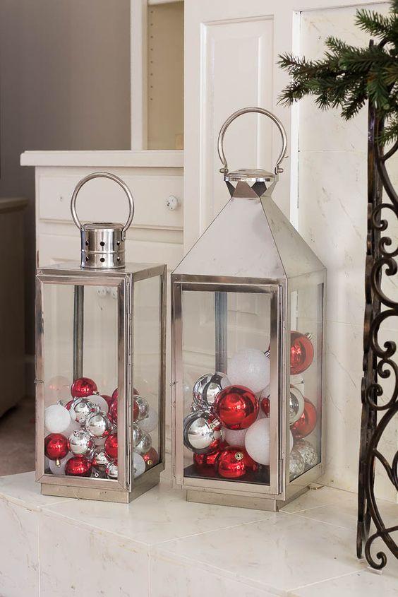 christmas transparent lantern
