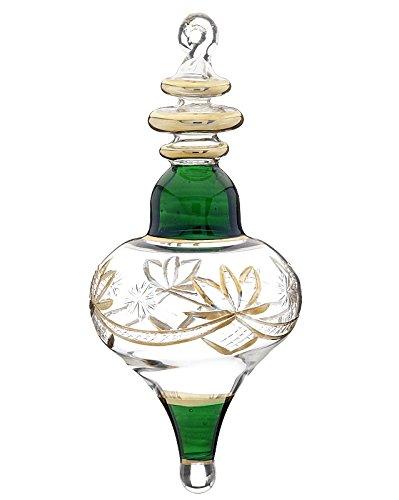 lamp glass shaped ornament