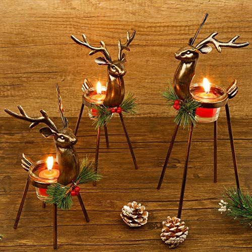 stand-up christmas candles