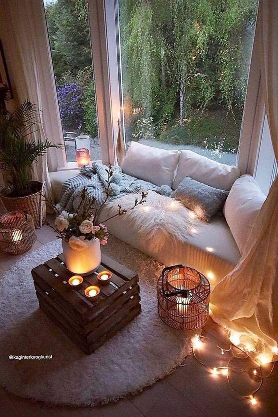 warm bay window seat