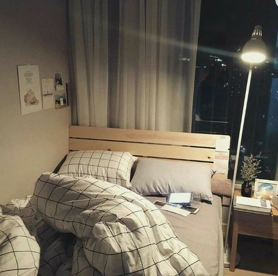 comfortable korean bedroom
