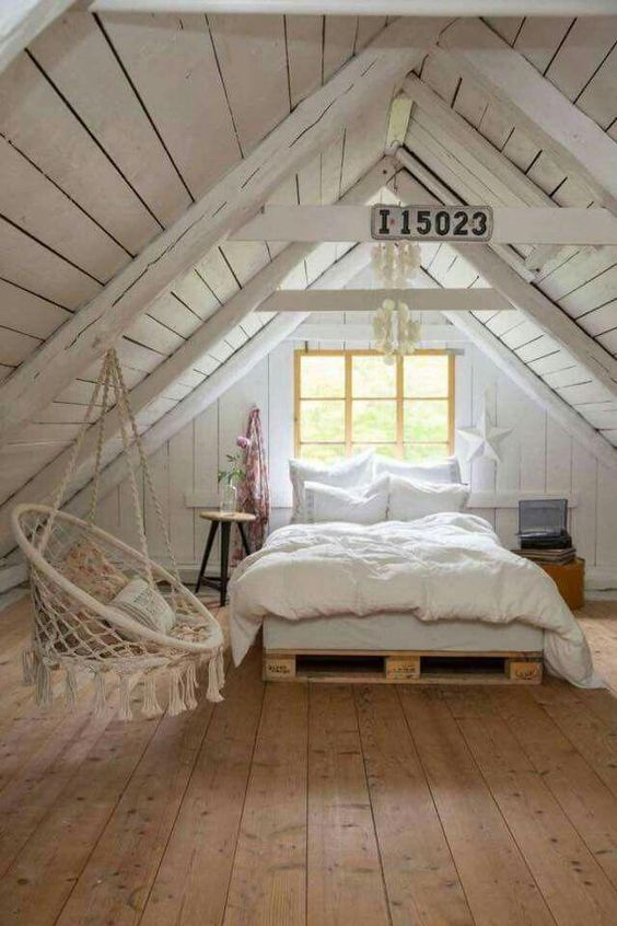 low-profile bed for attic