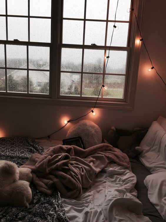 cozy bedroom for winter