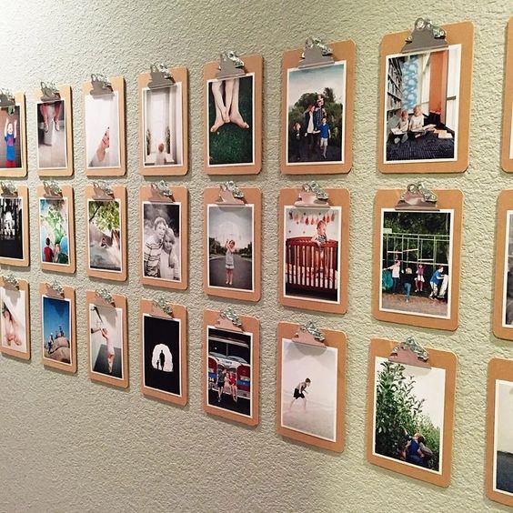 clipboard wall decor