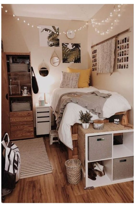 college student dorm makeover