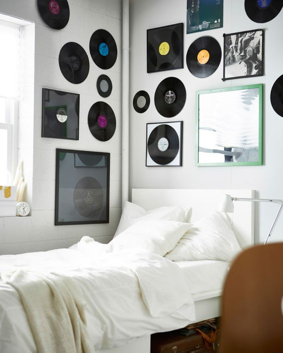 vinyl record decors