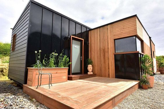 modern and minimalist tiny house