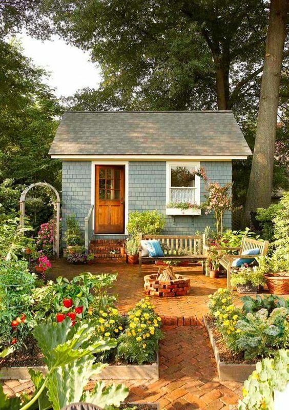 comfortable garden