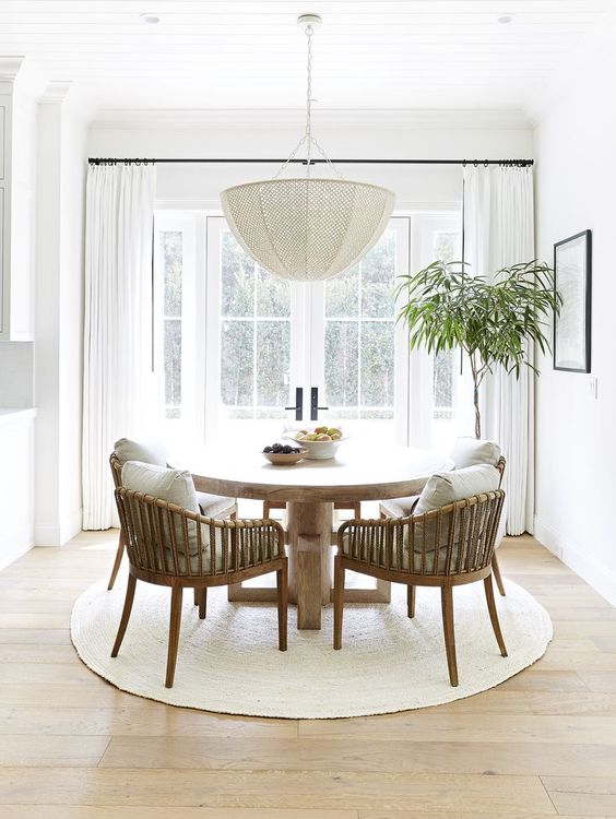 big plant for dining room