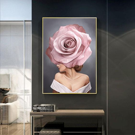 Flower Lady Posters