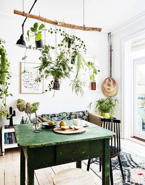 green dining room ideas