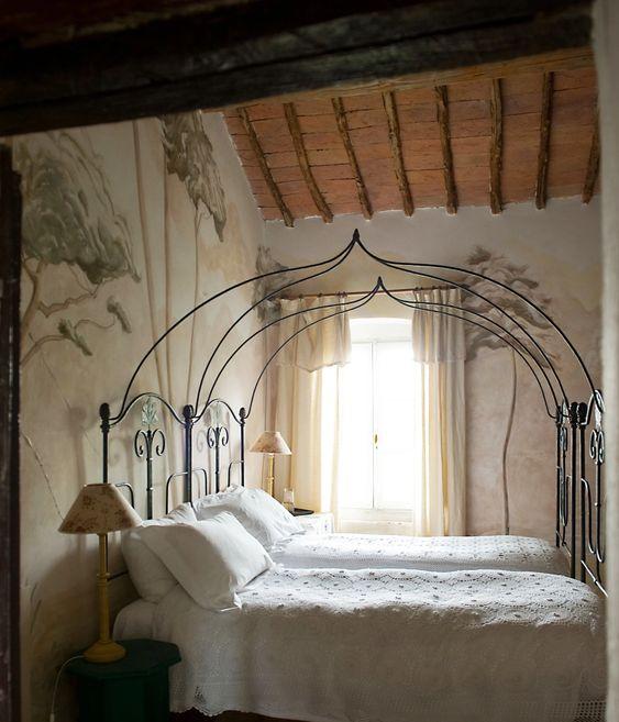 italian-style bedroom wall mural