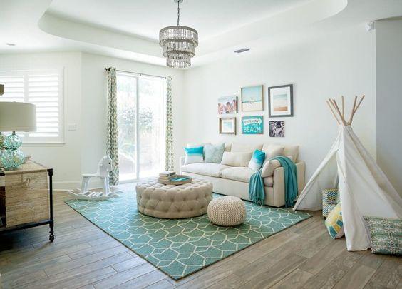 cozy living room for kids