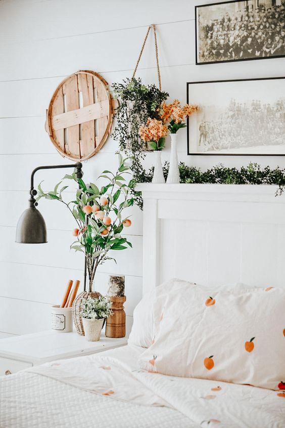 fruit pattern for spring bedroom