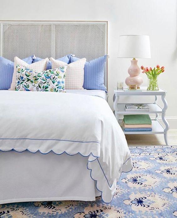 spring bedroom decoration