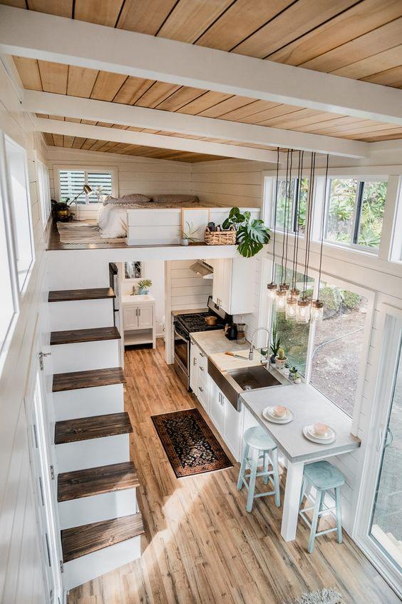 loft bedroom for tiny house