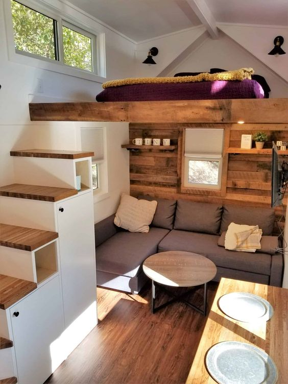 understair storage and shelves