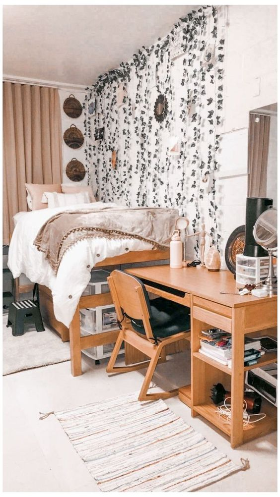 synthetic vines dorm decor
