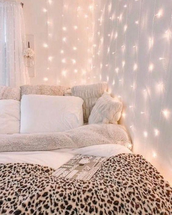 string light dorm decors