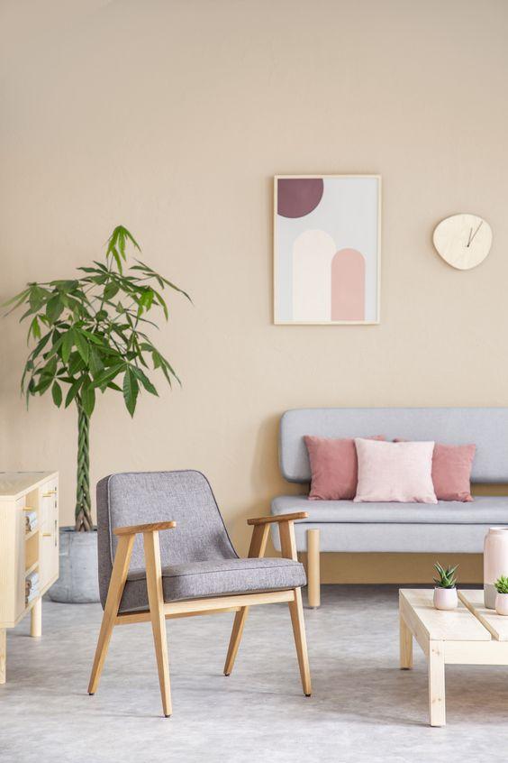 beige interior decor