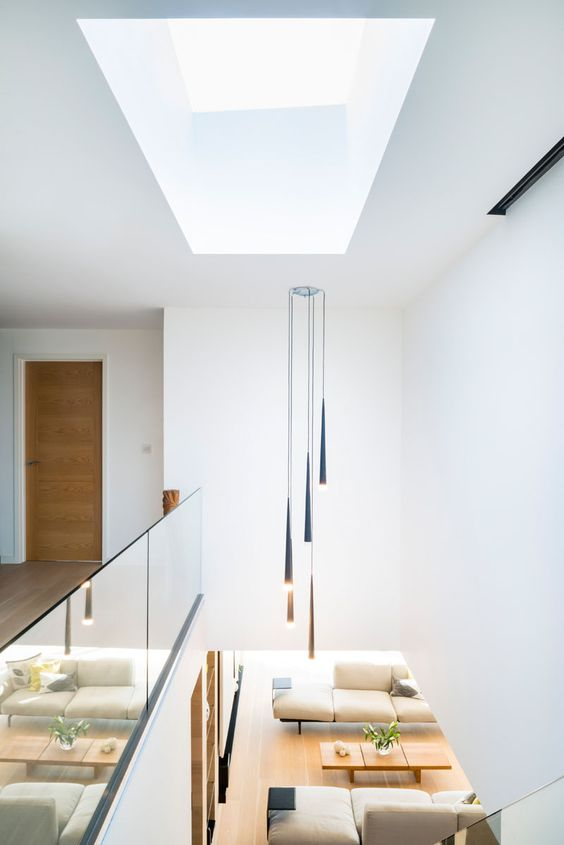skylight for stairs