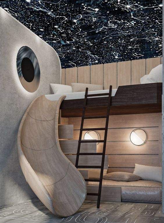 galaxy kid bedroom