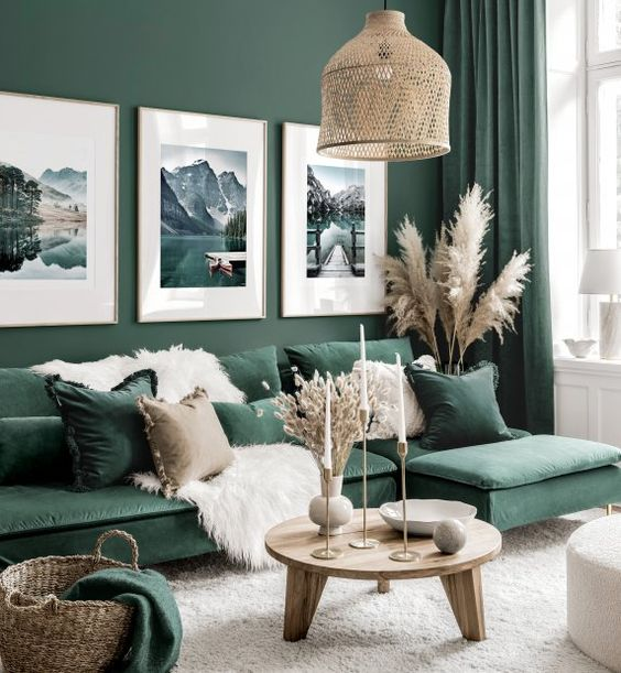 bold living room