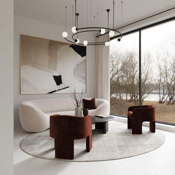 minimalist room plants