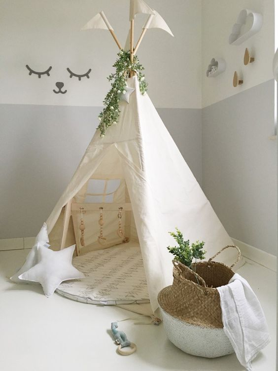 tent kid decor