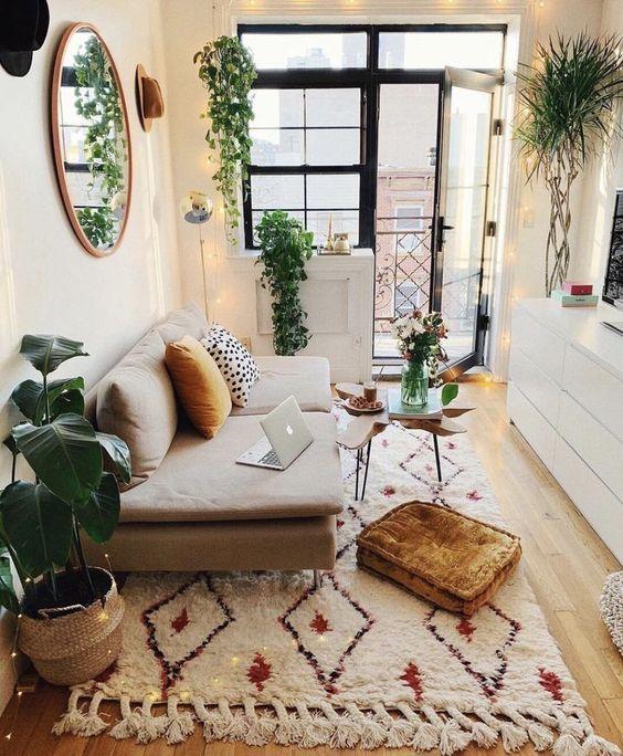 natural lighting for living room