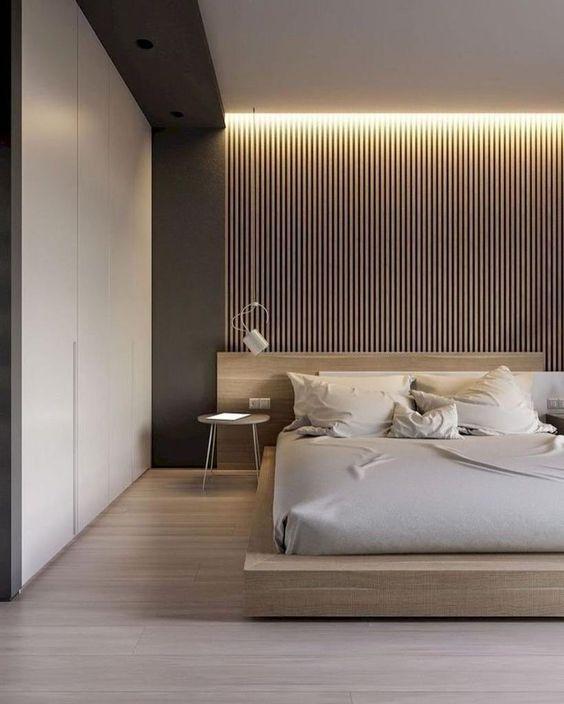 minimalist bedroom flooring