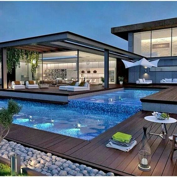 modern swimming pool design